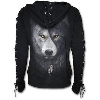 kapucnis pulóver női - WOLF CHI - SPIRAL, SPIRAL