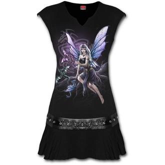 SPIRAL Női ruha  DRAGON KEEPER - Fekete, SPIRAL