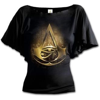 filmes póló női Assassin's Creed - ORIGINS LOGO - SPIRAL, SPIRAL