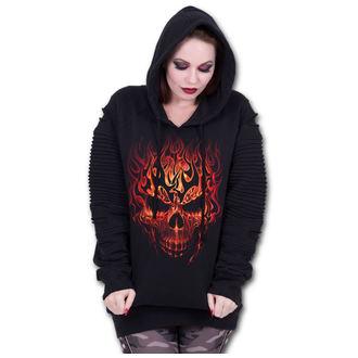 kapucnis pulóver női - SKULL BLAST - SPIRAL, SPIRAL