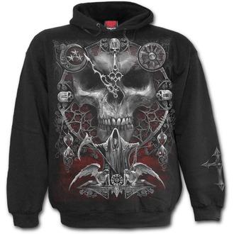 kapucnis pulóver férfi - SANDS OF DEATH - SPIRAL, SPIRAL