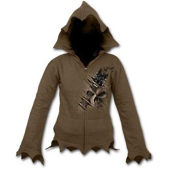 kapucnis pulóver női - NIGHT RIFFS - SPIRAL, SPIRAL
