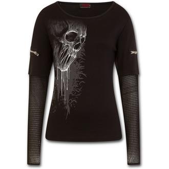 póló női - BAT CURSE - SPIRAL - E026F466