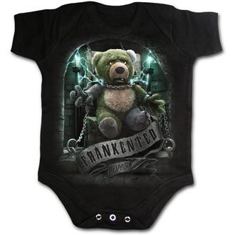 SPIRAL Egyrészes Gyermekruha- FRANKENTED - Fekete, SPIRAL