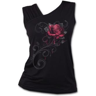 SPIRAL Női felső - ROSE SLANT - Fekete, SPIRAL