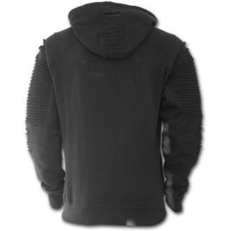 kapucnis pulóver férfi - GOTHIC ROCK - SPIRAL, SPIRAL