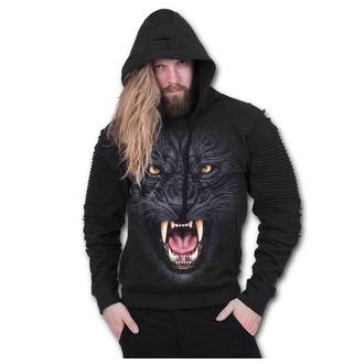 kapucnis pulóver férfi - TRIBAL PANTHER - SPIRAL, SPIRAL