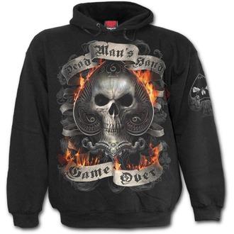 kapucnis pulóver férfi - ACE REAPER - SPIRAL, SPIRAL
