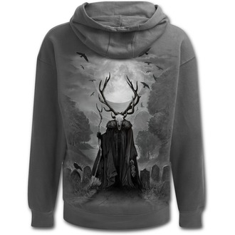 kapucnis pulóver férfi - HORNED SPIRIT - SPIRAL, SPIRAL