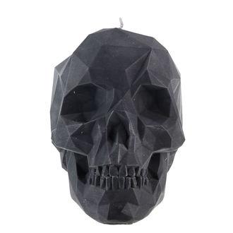 Skull gyertya - Black