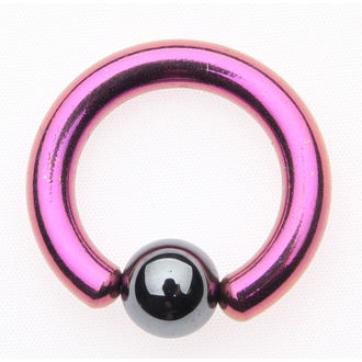 piercing ékszer - Metallic Purple - 6mm, NNM