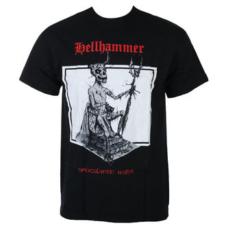 metál póló férfi Hellhammer - RED LOGO APOCALYPTIC RAIDS - Just Say Rock, Just Say Rock, Hellhammer