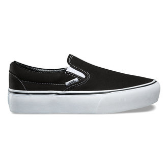 Női VANS cipő - UA CLASSIC SLIP-ON PLATFORM Black, VANS