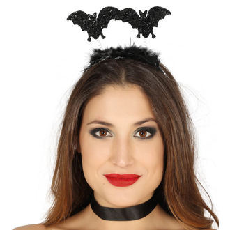 Halloween fejpánt BAT