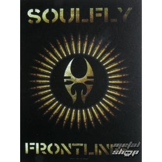 zászló Soulfly - Frontlines, HEART ROCK, Soulfly