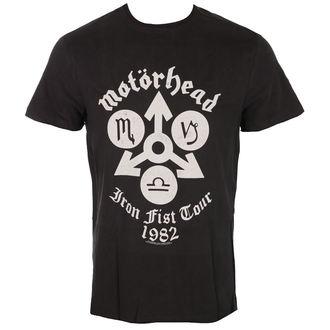metál póló férfi Motörhead - IRON FIST TOUR - AMPLIFIED, AMPLIFIED, Motörhead