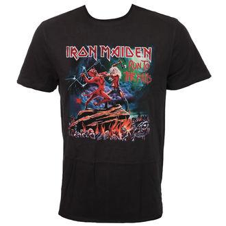 metál póló férfi Iron Maiden - RUN TO THE HILLS - AMPLIFIED