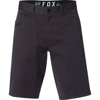 FOX Férfi Rövidnadrág - Stretch Chino - Fekete Szüret, FOX
