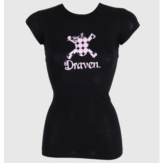 utcai póló női - Polkaskull - DRAVEN, DRAVEN