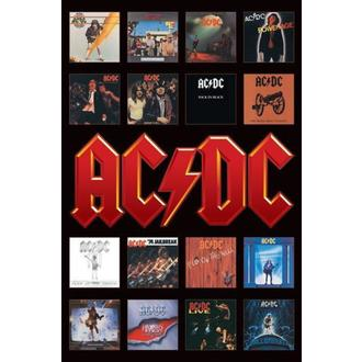 poszter - AC / DC (Album Covers) - PP30748, PYRAMID POSTERS, AC-DC