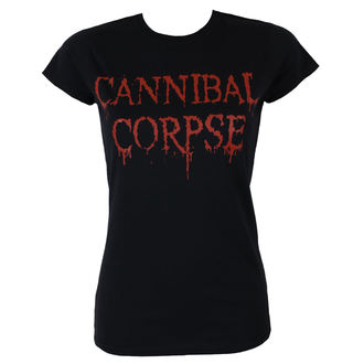metál póló női Cannibal Corpse - DRIPPING LOGO - PLASTIC HEAD, PLASTIC HEAD, Cannibal Corpse