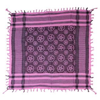 kendő Arafat - palesztina - borszínű - pentagram 1, NNM