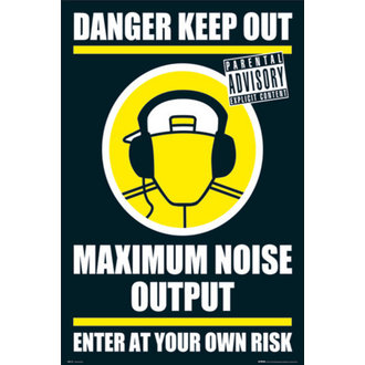 poszter - DANGER KEEP OUT II - GN0139, GB posters