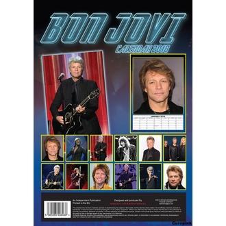 2018-as BON JOVI Falinaptár, Bon Jovi