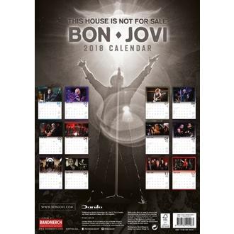 2018-as falinaptár BON JOVI, Bon Jovi