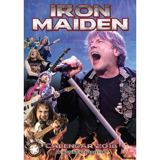 2018-as IRON MAIDEN Falinaptár, Iron Maiden