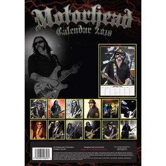 2018-as Motörhead Falinaptár- DRM-2018-016, Motörhead