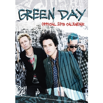 2018-as falinaptár GREEN DAY, NNM, Green Day
