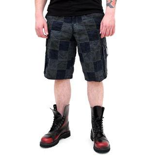 rövidnadrág férfi SURPLUS - Checkboard - KÉK, SURPLUS
