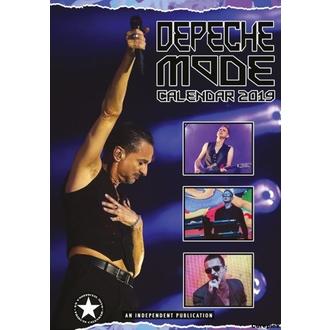 2019-es Naptár - Depeche Mode, NNM, Depeche Mode