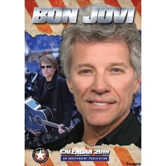 2019-es Naptár - Bon Jovi, NNM, Bon Jovi