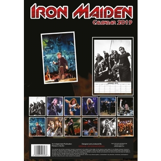 2019-es Naptár - Iron Maiden, NNM, Iron Maiden