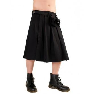 Black Pistol skótszoknya - Short Kilt Denim Black, BLACK PISTOL