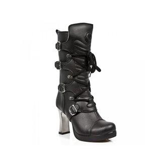 magassarkú cipő női - VEGAN NEGRO ** VEGAN **, PLATAFORMA - NEW ROCK, NEW ROCK