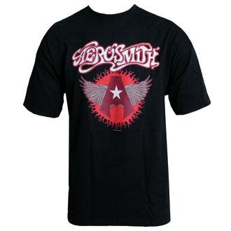 metál póló Aerosmith - Flying A Logo - HYBRIS, HYBRIS, Aerosmith