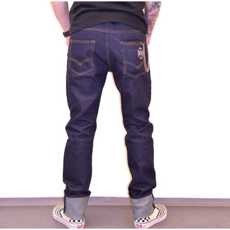 BLACK HEART Férfi Nadrág - HOT ROD JEANS, BLACK HEART