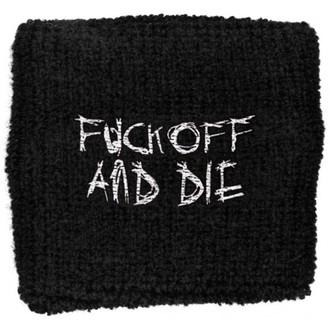 Darkthrone csuklópánt - Fuck Off and Die, RAZAMATAZ, Darkthrone