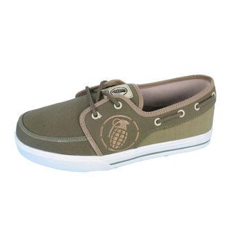 rövidszárú cipő férfi - GRENADE - Boat shoes, GRENADE