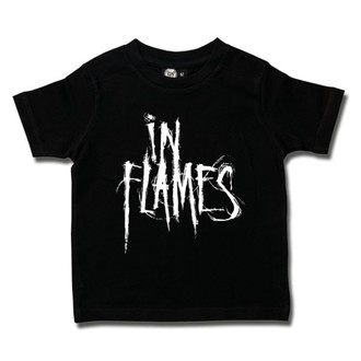 metál póló férfi In Flames - Logo - Metal-Kids, Metal-Kids, In Flames