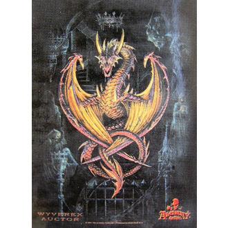 zászló Achemy Gótikus HFL 346, HEART ROCK