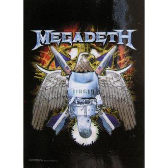 zászló Megadeth - Eagle, HEART ROCK, Megadeth