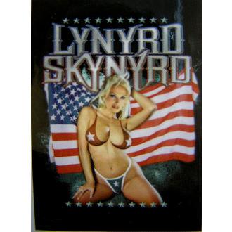 zászló Lynyrd Skynyrd - American Flag, HEART ROCK, Lynyrd Skynyrd