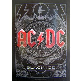 zászló AC-DC 'Fekete Jég' HFL 0979, HEART ROCK, AC-DC