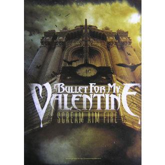 zászló Bullet For My Valentine - Scream Aim Fire, HEART ROCK, Bullet For my Valentine