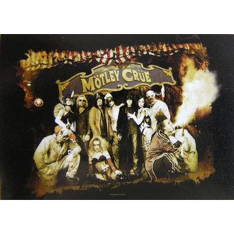 zászló Mötley Crüe - Festival Cirkus, HEART ROCK, Mötley Crüe