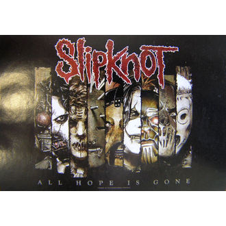 zászló Slipknot - All Hope Is Gone, HEART ROCK, Slipknot